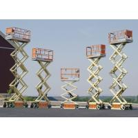 Buy Mobile Scissor Lift Work Platform For Construction Sites CE Certified at wholesale prices