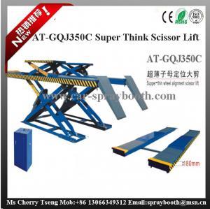 China AT-GQJ350C Super Thin Wheel Alignment Scissor Lift,scissor used wheel aligner car lift on sale