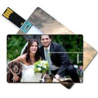 Quality Large area Custom-made Full Color Plastic Credit Card USB Flasth Drive for sale