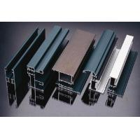 Quality Powder Painted Aluminum Extrusion Profiles , Aluinum Window / Door Profile for sale