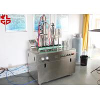 Quality Easy Operating Bag On Valve Spray Can Filling Machines For Evian Spray / Avene Spray / Water Spray for sale