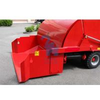 Quality 95kw High Power Vertical Feed Mixer For Horse Fodder LCD Display Included for sale