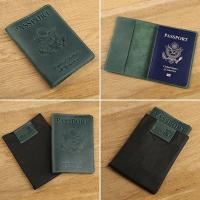 Quality Travel Passport Holder with Genuine Leather Cover for Men & Women Travel Passport Case for sale