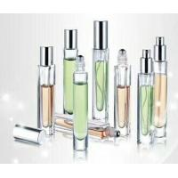 Quality 10ml 10cc glass  square perfume bottle with steel ball roll on for sale