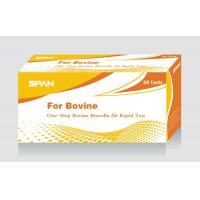 Buy cheap One-Step Bovine Brucella Ab Test from wholesalers