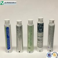 Buy cheap Toothpaste Container Cosmetic Tube , Glossy Squeeze Aluminum Plastic Laminated Tube from wholesalers