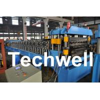 Buy Double Layer Roof Wall Panel Cold Roll Forming Machine for Two Different Roof at wholesale prices