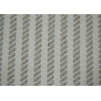 Quality Herringbone Jacquard Material / Cotton Blended Fabric No Harmful Substances for sale