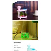 Quality Fish Tank LED Light Humidifier Air Diffuser Purifier Atomizer essential oil diffuser difusor de aroma mist maker fogger for sale