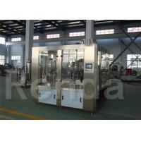China Water Bottle Plant With Bottle Fillers Automated PLC Controlled Water Packaging Machinery on sale