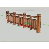 Uv Resistance Wpc Fence Panels Rotproof Synthetic Wood