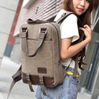 Quality Vintage Unisex College Student Backpack 2 In 1 Use With A Lot Of Pockets for sale