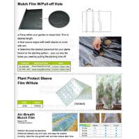 Green house film, pp non-woven weed control sheet,mulch film w/pull-off hole