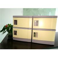 Quality 180*310*460  ABS Cell Phone Charging Locker With Four Code Lock For Secret Place for sale