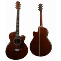 Quality Handmade 40 Inch Vintage Steel String Acoustic Guitar With Whole Sapele Body AF40C-S for sale