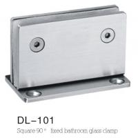 Quality glass clamps DL101, Material Zinc alloy, Satin and Mirror, 55x90mm for sale