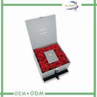 China Customizable Personalised Flower Bouquet Delivery Boxes Cardboard on sale