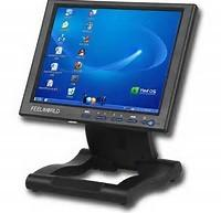 Quality Projected Touch Screen Computer Monitor , USB Touch Screen Industrial Monitor for sale