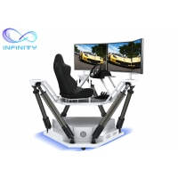 Quality Theme Park Competition 9D 3D Full View Vr Car Driving Simulator for sale