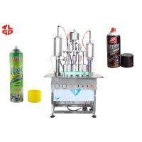 Quality Semi Automatic Aerosol Can Filling Equipment for sale