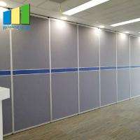China 6000 mm Height Sliding Door Sound Proof Wall Room Partition For Restaurant on sale