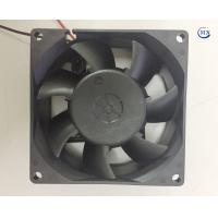 Quality 80 X 80 X 32 mm 12V dc axial conventional fan Factory manufacturing with dual ball bearing applies in electronic equipme for sale
