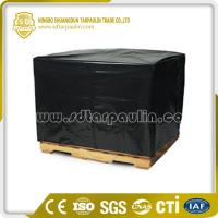 China Dust Resistant Tarp Equipment Cover Pallet Cover on sale