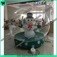 Quality Transparent Inflatable Show Ball,Inflatable Snow Ball,Christmas Decoration Inflatable for sale