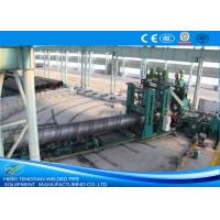 Quality Large Diameter Spiral Weld Pipe Machine High Performance For Gas Delivery for sale
