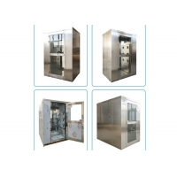 Quality Interlock Double Swing Door SUS201 Cleanroom Air Shower for sale