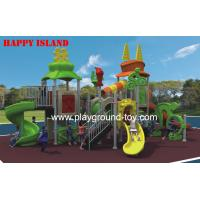 Buy cheap Sport Series Playground Equipment Slides , Recycled Play Equipment For Children from wholesalers
