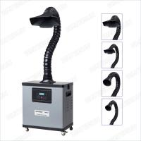 China Durable 99.97% Solder Fume Extractor , F6001d Portable Fume Collector on sale