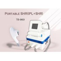 Quality Portable Home Use IPL SHR Hair Removal Machine , Age Spots Removal Skin Rejuvenation Machine for sale