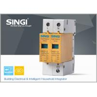 Buy 10 - 20KA Double phase surge protection device for installation in distribution at wholesale prices