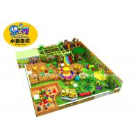 Quality Customized Theme Kids Indoor Soft Playground Games Amunment Park for sale