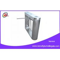 Quality Turnstile Security Systems Pedestrian Barrier Gate With cctv camera system for sale