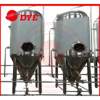 Buy CE Stainless Steel Conical Fermenter Fermenting / Fermentation Alcohol at wholesale prices