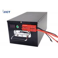Quality 96V 50Ah LiFePO4 Lithium Solar Batteries For ESS , Metal Case , Customized Size for sale