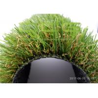 Quality 35mm Height Smooth Soft Plastic Grass Carpet / Outdoor Artificial Grass Landscaping for sale