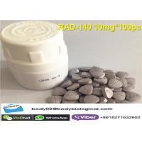 Quality RAD-140 SARMs Raw Powder In Pills Save Mass Wasting Reduce Androgenic Side Effects for sale