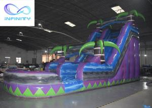 Quality 2021 Commercial Kids Jumping jungle slide Inflatable Water Slide For sale for sale