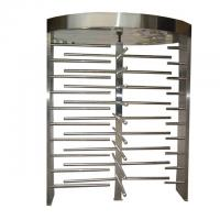 China 316 / 304 SUS Full Height Turnstiles, Seaport Controlled Security Access Door on sale