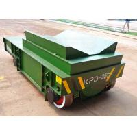 Quality 25t Electric remote control steel coils handling crane tracks trailer for sale