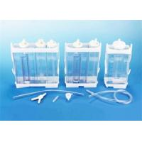 Buy Portable Vacuum Drainage System Wound Care Double chamber 2500ml Fr16 Fr18 at wholesale prices