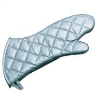 Quality Steam Protection Silver Oven Mitts high Flexibility Fits Comfortably for sale