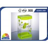 Quality Plastic Clamshell Packaging Transparent PVC Boxes with UV Coating Eco-friendly and Recycled for sale