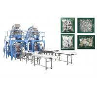 Quality Pipe Fittings / Bolts Multi Head Pouch Packing Machine With Mild Stainless Steel Body for sale
