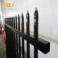 China Custom Galvanized Gates And Prefabricated Corten Stainless Steel Grills Fencing Fence Design on sale