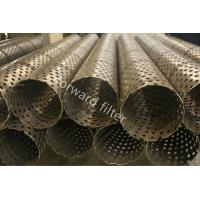 Quality Downhole Sand Control Screens , Oilfield Prepack Wire Wrap Well Screen for sale