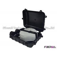 Quality 24 Fibers Horizontal Optical Cable Splice Closure for Aerial Overhead for sale